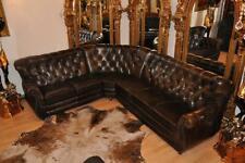 Chesterfield Eckgarnitur Shakespeare Luxus Aniline Leder E 1600