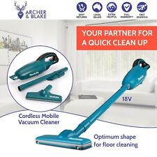New Makita Cordless Vacuum Cleaner Portable Workshop Garage Vac DCL180Z 18V