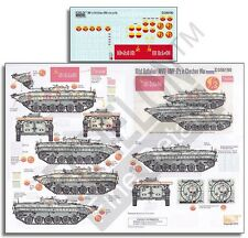Echelon Decals 356190	1/35 101st Battalion (MVD) BMP1Ps in Chechen War decals