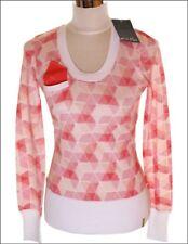 NUEVO CON ETIQUETA Mujer Oakley L/S Plataforma Golf Jersey Suéter Grande rombos