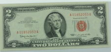1963 U.S. Two Dollar $2 Red Seal Paper Currency P256166