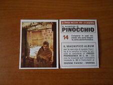 figurina PINOCCCHIO n.14 - ed. PANINI 1972