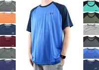 Under Armour Men's T-Shirt HeatGear Crew Neck Shirt Loose Activewear Tee 1293936