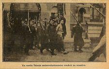 CHINE CHINA COOLIE CONDUIT AU SUPPLICE EXECUTION ILLUSTRATION 1912