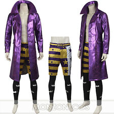Suicide Squad Cosplay Costume Joker Cosplay Costume Halloween Costume All Size