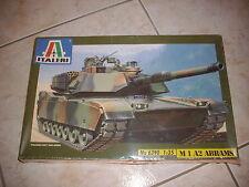 ITALERI  M1 A2 ABRAMS  PLASTIC MODEL 1/35
