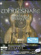 WHITESNAKE-UNZIPPED SUPER DELUXE EDITION-IMPORT 5 CD+DVD WITH JAPAN OBI X15