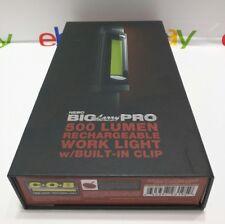 NEBO BigLarry PRO 6640 Worklight 500 Lumen Rechargeable Flashlight w/ Clip