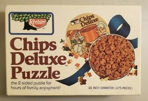 Keebler Chips Deluxe 675 piece Jigsaw Puzzle. Used. Double Sided