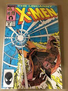 The Uncanny X-Men #221 ( September 1987 ) Marvel Comics JW