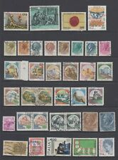 Italy - 36 used stamps - (Lot 406)