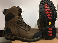 RED WING work boots , vibram sole, waterproof insulated ,  #  1213  size 13 D