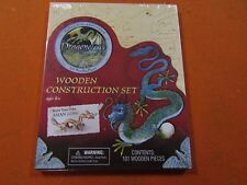Dragonology Asian Lung Dragon Wooden Construction Kit Brand New Sealed