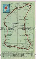 Isle of Man TT circuit map legendary racing circuit ca 8 x 10 print prent poster