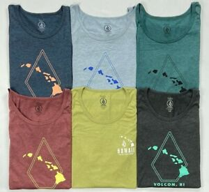 Men's Volcom Modern Fit Hawaii Cotton/Polyester Tank Top