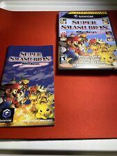 Super Smash Bros Melee (Nintendo GameCube, 2001) NO GAME - CASE AND MANUAL ONLY