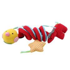 Kid Baby Crib Pram Hanging Rattles Spiral Stroller Car Seat Toys Ringing Bell