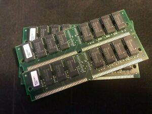 4x 4MB 72-Pin 60ns FPM Non-Parity Fast Page 1Mx32 RAM SIMM Memory Apple PC Unix