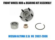 Fits:Nissan Altima 3.5L Front Wheel Hub And Bearing Kit Assembly 2002-2006