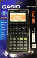 Casio fx-9750GIII Graphing Calculator Python Black Algebra Calculus Statistics
