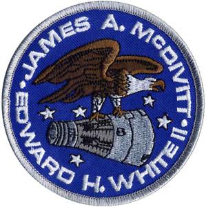 NASA Gemini 4 (IV) - Edward H. White / James McDivitt Embroidered Mission Patch