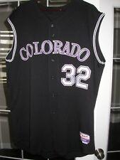 Colorado Rockies Game Used 2006 Baseball Jersey Vest - Jason Jennings, Team LOA