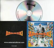 ADAMSKI NRG Boost 2019 UK 1-trk promo test CD