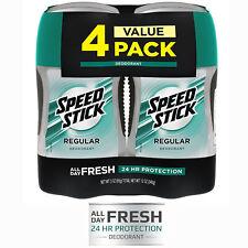 Mens Deodorant Speed Stick Aluminum Free Regular 3 Ounce 4 Pack