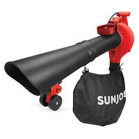 Sun Joe 3-in-1 Electric Blower | 250 MPH | 14 Amp | Vacuum | Mulcher
