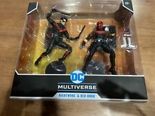 DC Multiverse Nightwing & Red Hood Action Figure Two-Pack - NEW