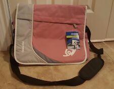 Invicta Messenger/Shoulder Bag (Pink & Grey)
