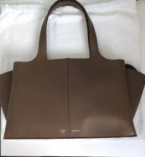 1ef0a89160d Celine Tri Fold Bag Medium Brown   Blue Suede Calfskin  3100 Excellent