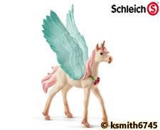 Schleich UNICORN PEGASUS FOAL horse animal solid plastic toy fantasy pet NEW 💥