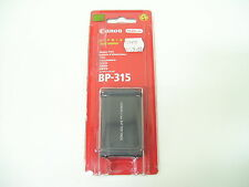 CANON BP-315 GENUINE LI-ION CAMERA BATTERY PACK NEW