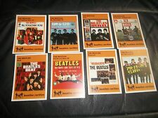THE BEATLES RECORD SLEEVES NONE UK ISSUES, COVERS TRADING CARDS SET OF 8 CARDS