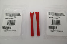 AUTHENTIC Oakley RED Earsocks fits RADAR PATH / PITCH / XL Replacement GENUINE