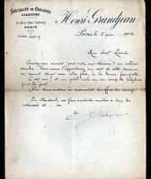 "PARIS (II°) CRAVATES / MODE ""Henri GRANDJEAN"" en 1804"