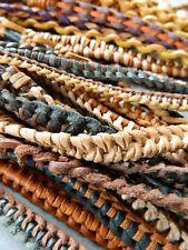 Leather bracelet wristband 10 PIECES friendhip boys mens party bags mixed bundle