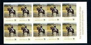 2014 Equestrian Events (Dressage) Stamp Booklet SB480 (Philatelic Barcode)