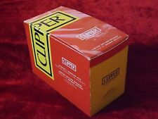 Clipper Red Classic Burning Rolling Paper Regular Size Full Box 100 Booklets