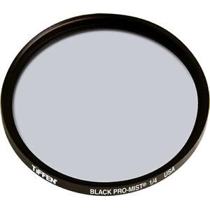 New Tiffen 77mm Black Pro-Mist 1/4 Filter Diffusion Filters MFR # 77BPM14