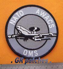 NATO Awacs OMS Luftwaffe Armee Militärisch Menge Stoff Flicken