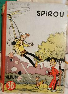 """SPIROU *** ALBUM N°38 version belge état """"à réparer"""""""