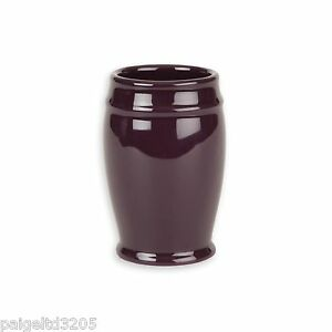 Cannon Ceramic Bathroom Tumbler - Deep Purple