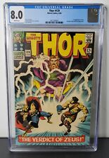 Mighty Thor #129 CGC 8.0 (Marvel 1966) 1st app Ares