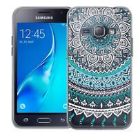 Schutz Hülle Samsung Galaxy J1 2016 J120 Hülle Silikon Handy Tasche Case Cover