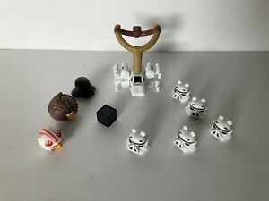 Angry Birds Star Wars Death Star Game Replacement Figures Launchers PARTS Lot