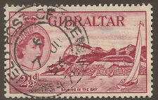GIBRALTAR. QE2. FIELD POST CANCEL. USED