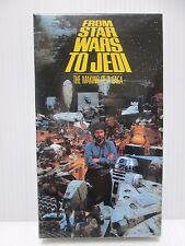 FROM STAR WARS TO JED: THE MAKING OF A SAGA - Japanese original  VHS