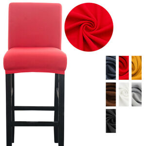 Spandex Chair Cover Seat Covers Slipcover for Bar Stool Chairs Cover Home Decor